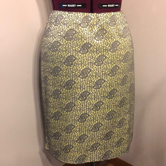 Mossimo Supply Co. Dresses & Skirts - !!!NEW!!! Flirty green & gray below the knee skirt